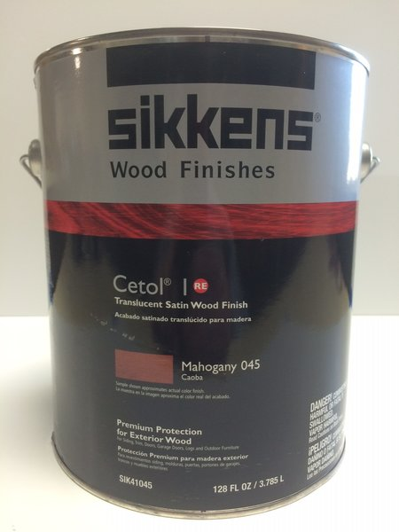 Sikkens Proluxe Cetol 1 045 Mahogany Exterior Stain Gallon