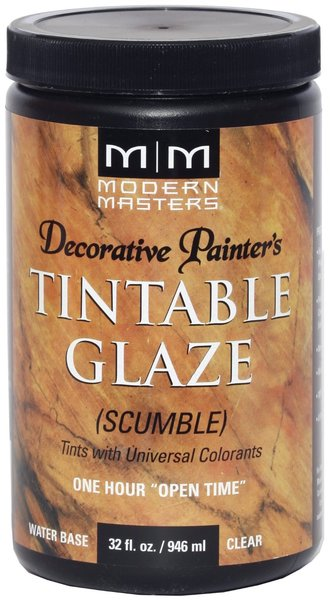 Modern masters scumble tintable glaze qt dp60832 epic for Aquabond paint