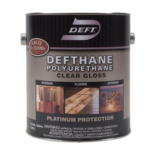 Deft defthane polyurethane gloss int ext gallon 02001 for Aquabond paint