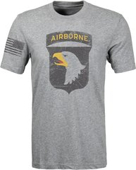 101st Airborne - Distressed T-shirt (0078)
