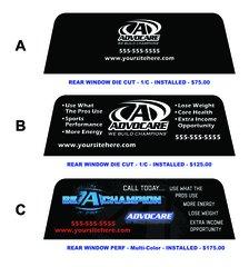 Advocare Stick N Stitch LLC - Advocare car decal stickers