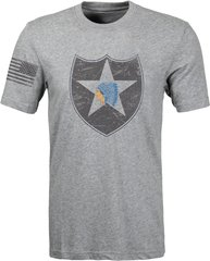 2nd Inf. Div. - Distressed T-shirt (0079)