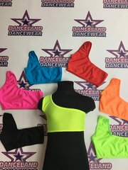 one shoulder crop tops for adults