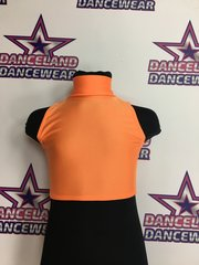 SLEEVELESS POLO CROP TOP FOR ADULTS