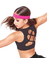 VIERA CRISS CROSSED BACK CROP TOP