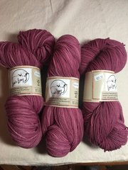 Lac/Brazilwood Sport Weight Yarn - 310 yards, 3 ply combed preparation