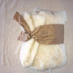 Full Circle Wool Natural Wool Batting - 3.5 lb