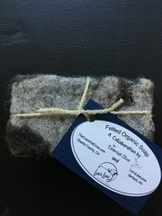Wool Felted Natural Soaps by Essential Olive and Lani's Lana - 4 oz