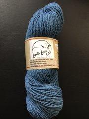 Natural Indigo Dyed Sport Weight Rambouillet Wool Yarn