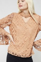 Copper Bell Sleeve Star Lace Pattern