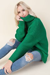 Chunky Turtle Neck Sweater