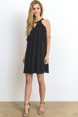 Little Black Dress with Detail