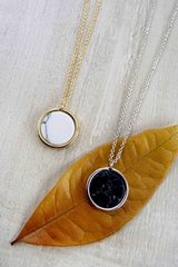 Fuax Marble Necklace