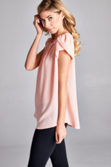 Tulip Short Sleeve Blouse