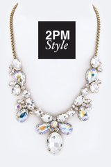 Holiday Bling Statement Necklace