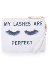 My Lashes are Perfect Makeup Bag