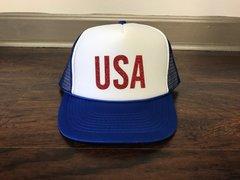 USA Glitter Hat