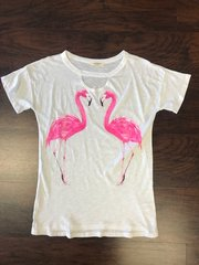 Flamingo Cut Out Tee