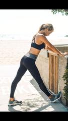 Grey Band Yoga Legging