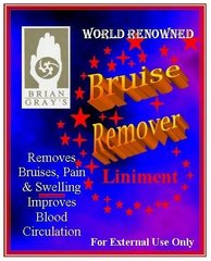One 8-Ounce Bottle of Bruise Remover Shipped Overnight Within the U.S.
