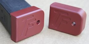 TF Glock Stock Competition basepad (black or crimson)