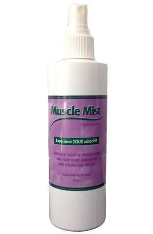 Muscle mist spray