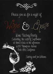 Wine & Cheese Housewarming Invitation