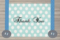Suspenders Thank You Card