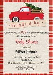 Bundle of Joy Baby Shower Invitation
