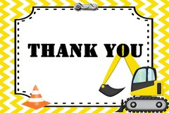 Construction Thank You Card