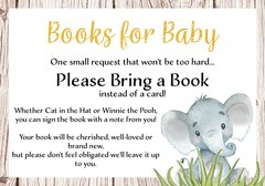 Books for Baby Elephant Gender Neutral