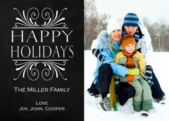 Happy Holidays Greetings Card