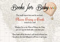 Books for Baby-Pink Hot Air Balloon