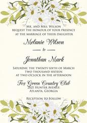 Daisey Wedding Invitation