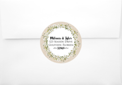 Daisey Flowers Return Address Sticker