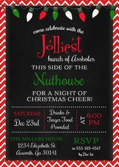 Jolliest Bunch Griswold Christmas Invitation