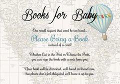 Books for Baby-Blue Hot Air Balloon