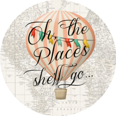 Oh the Places She'll Go Stickers