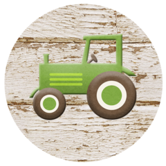 Farm Tractor Stickers