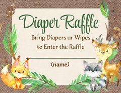 Diaper Raffle-Forest