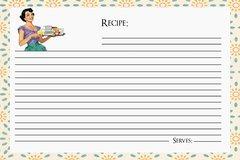 Retro Recipe Card