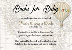 Books for baby Tan Hot Air Balloon