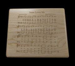 JESUS LOVES ME MUSIC BOX