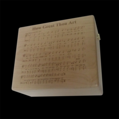 HOW GREAT THOU ART MUSIC BOX