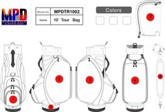 Custom Tour Golf Bag