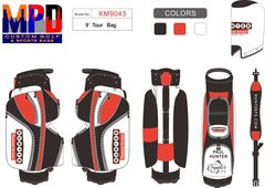 Paul Hunter Custom Cart Bag