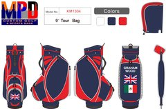 Graham Wood Custom MPD Cart Bag & Headcovers