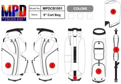 Custom Cart Golf Bag