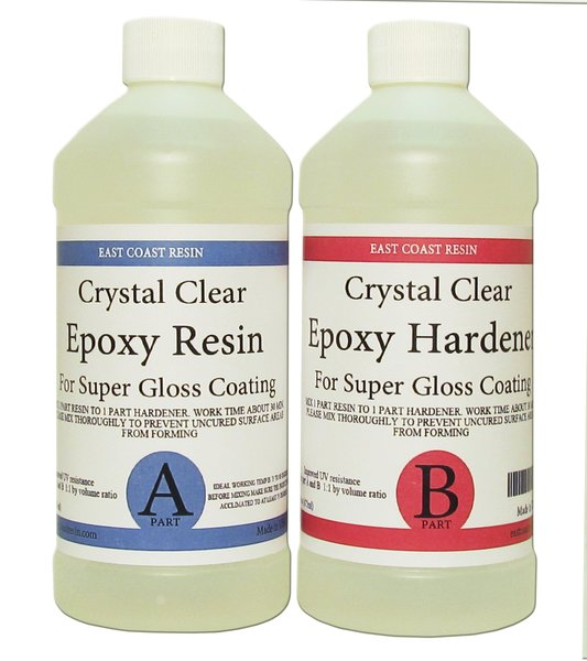 Crystal Clear Epoxy Resin Kit 32 Oz 16 Oz Resin And 16