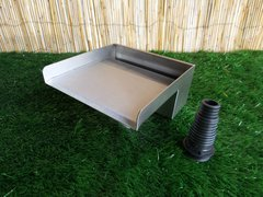 200mm Water Blade 130mm Spout Bottom Inlet
